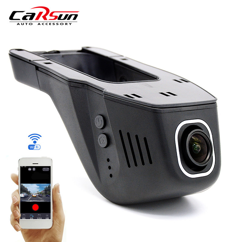 Car DVR Camera Dash Camera Cam Digital Video Recorder Full HD 1080P Night Version Novatek 96658 Hiden Wifi Auto Recorder