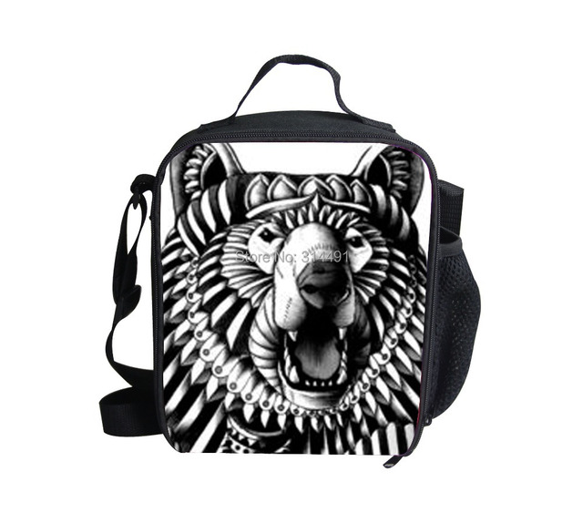 FORUDESIGNS 2015 New Fashion 3D Printed Owls Kids Lunch Bags,High Thermal Insulated Lunchbox for Boys,Children Picnic Bags