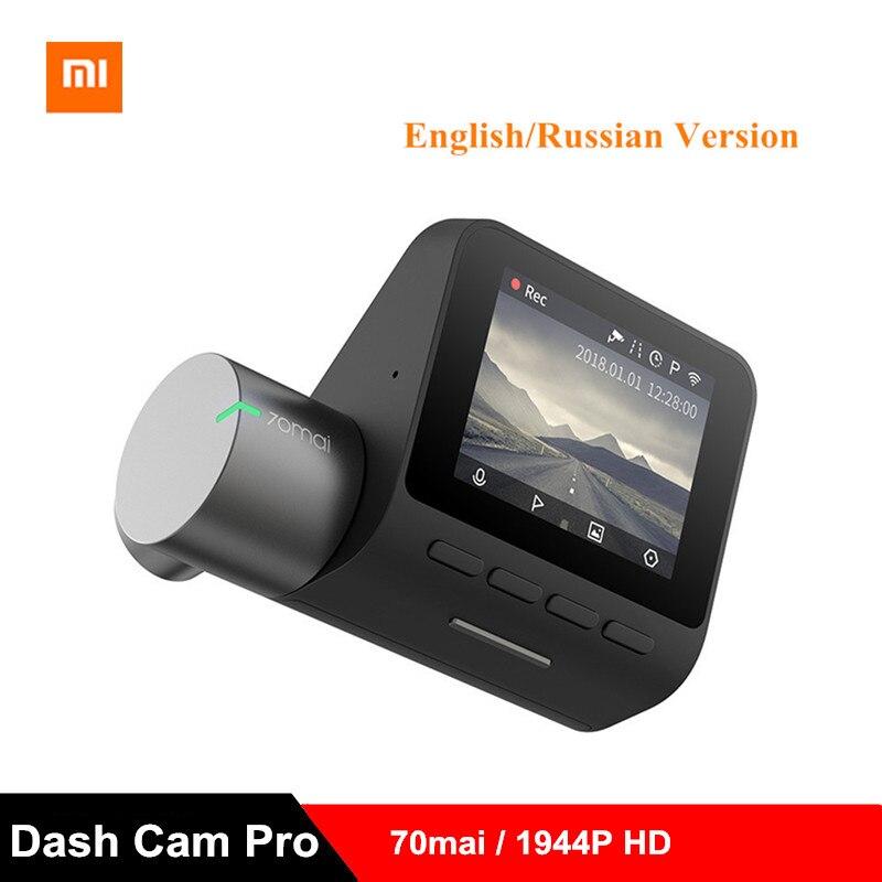 Original Xiaomi 70 Mai Dash Cam Pro enregistreur de caméra intelligente Pro enregistreur de conduite Intelligent inverseur d'image chien électronique