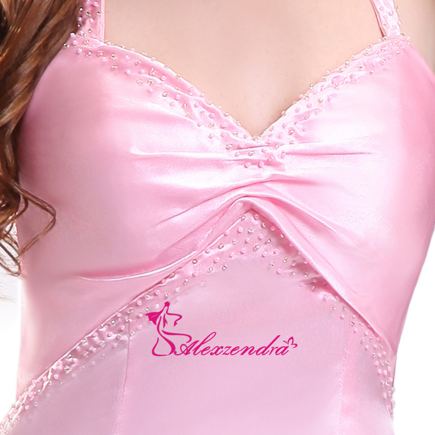 Compras baratas Alexzendra Rosa sirena Sesy vestidos fiesta novia ...