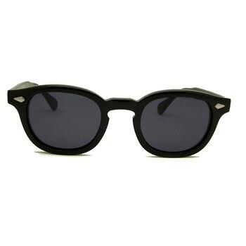 High Quality Acetate Glasses Sunglasses Men Round Small Retro Rivet Sunglasses Women Sun Glasses Uv400 Occhiali Da Sole Donna 2