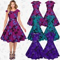 2017 Горячие Продажа Новый Дизайн Моды Традиционных Африканских Одежды Печати Dashiki Приятно Шеи Африканские Платья для Женщин C893