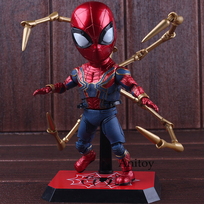 Action Figure Marvel Avengers 3 Infinity War Figures Spider-man Figure PVC Spiderman Toys Collectible Model Toys Gift 17cm кольцо коюз топаз кольцо т142015009