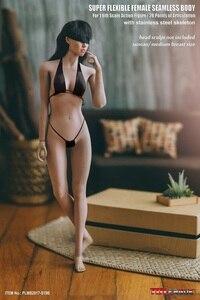 Image 5 - تبلو 1/6 امرأة تمثال الجسم شاحب Suntan الجلد سلس نموذج لجسم الإناث مجموعات لمدة 12 بوصة عمل الشكل