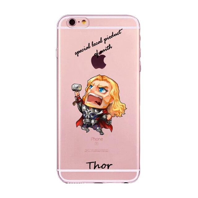 Marvel Comics Superhero Case For iPhone