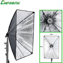 Photographic Equipment Photo Studio Softbox 50x70cm with Single Lamp Holder For E27 Continuous Lighting