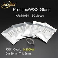 JHCHMX Precitec WSX Bảo Vệ Cửa Sổ Kính An Toàn 30*5mm 1064nm P0795 1201 00001 Sợi Đầu Laser Ống Kính Nhà Máy Bán Hàng