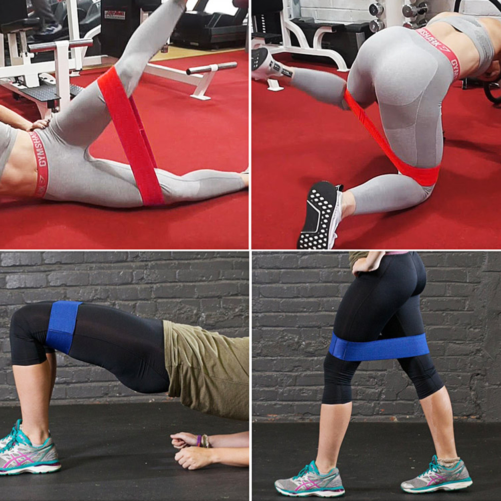 Fitness Resistance Band for Legs and Butt Workout Gym