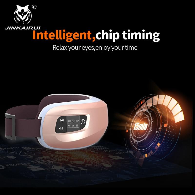 JinKaiRui Wireless Rechargeable Eye Massager Far-infrared Heating - Penjagaan kesihatan - Foto 4