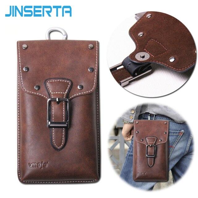 jinserta clip ceinture flip tui en cuir pour oneplus 5 a5000 poche de t l phone universel avec. Black Bedroom Furniture Sets. Home Design Ideas