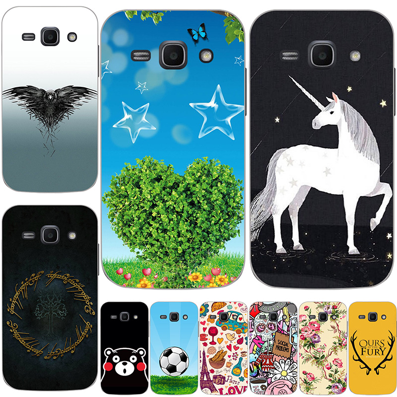 For <font><b>Samsung</b></font> <font><b>Galaxy</b></font> Ace 3 <font><b>Ace3</b></font> S7270 <font><b>S7272</b></font> S7275 Case Special Hard PC Cover Shell Vogue Eye Bag Design Cover Print specialties image
