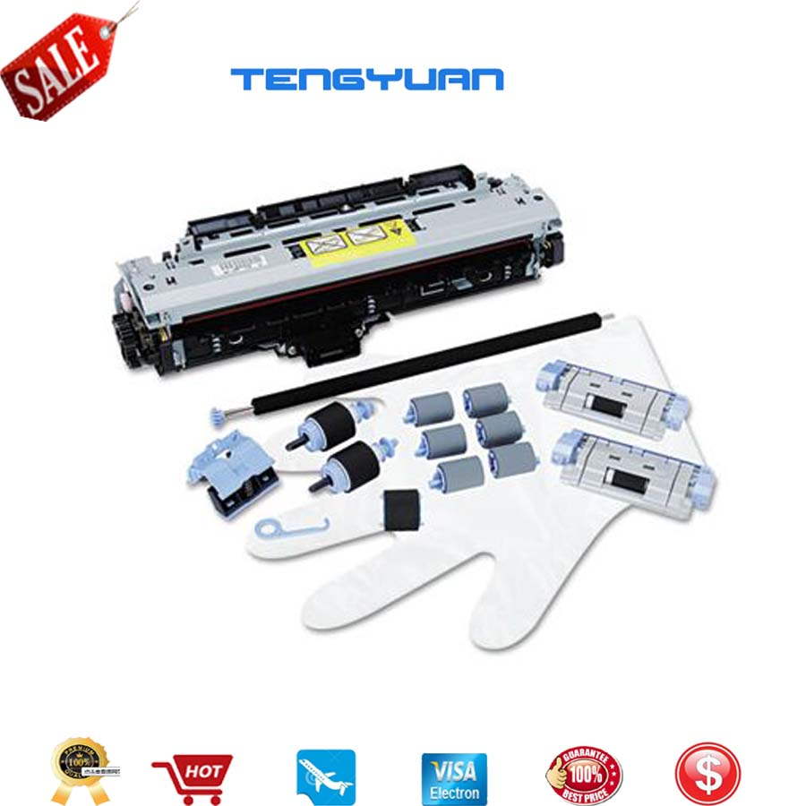Original New LaerJet for HP5200 5200L 5200LX 5200N Maintenance Kit Fuser Kit Q7543-67901 PQ7543-67902 rinter Parts maintenance kit f2g77a f2g77 67901 for hp laserjet ent m604 m605 m606 fuser roller kit 220v new