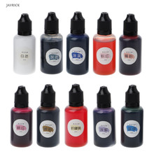 30ML Art Ink Pigment Colorant Dye Diffusion UV Epoxy Resin Jewelry Making