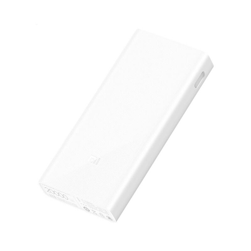 20000 mAh Xiaomi Mi Energienbank 2C Smart Schnellladung QC3.0 Tragbares Ladegerät Externe Batterieleistung-bank für Handy