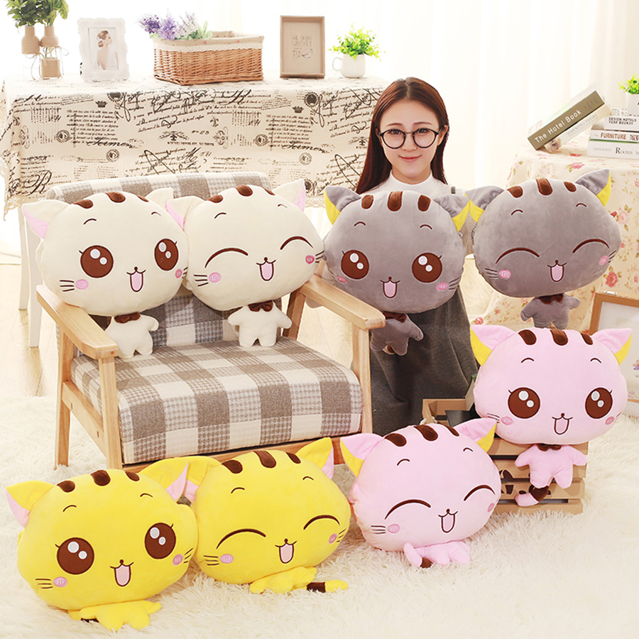 Soft Carton Sofa font b Pillows b font font b Cute b font Cushion Seat Cat
