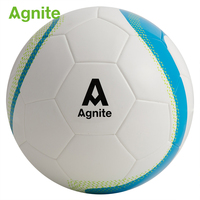 Agnite No.5 Official Competition Training Football Ball PU Elasticity Comfortable Adult Profession Training Outdoor Soccer Ball