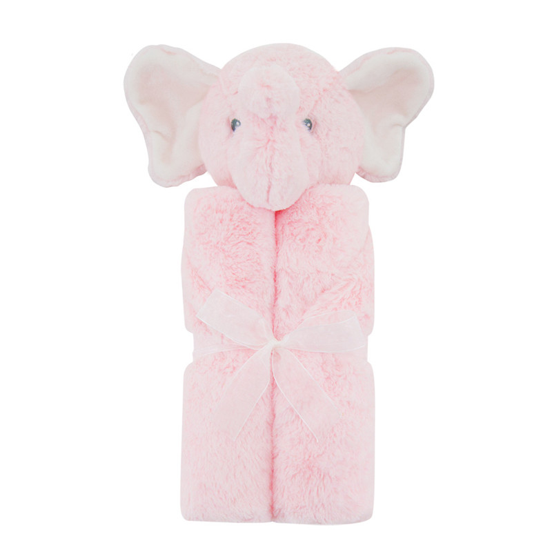 Winter Warm Plush Coral Fleece Baby Blanket Newborn Swaddle Wrap Super Soft Baby Receiving Blanket Warm Cobertor Baby Bedding