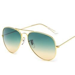 Newest brand designer women sunglass fashion gradient rimless sunglasses frog mirror gradient unisex sunglasses .jpg 250x250