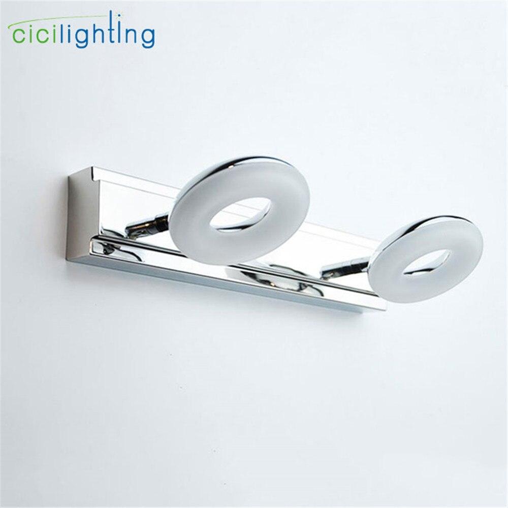 Art Desinger LED Vanity lamp 10W 15W 20W bathroom mirror front light 3000K 4000K 6000K make up cosmetic wall lighting sconces