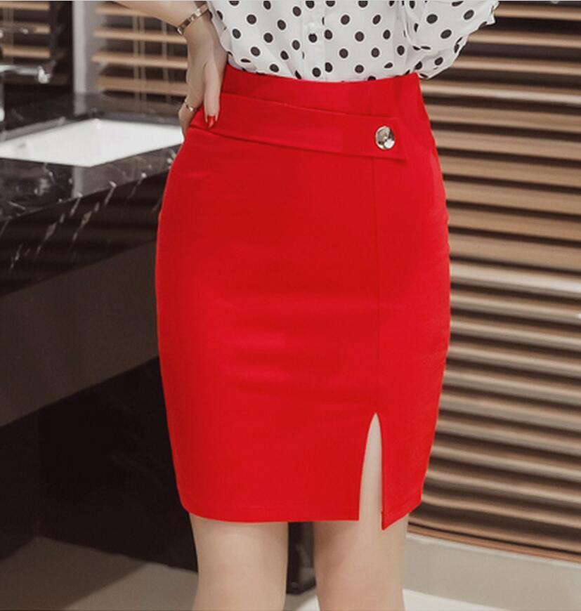Popular Red Mini Pencil Skirt-Buy Cheap Red Mini Pencil Skirt lots ...