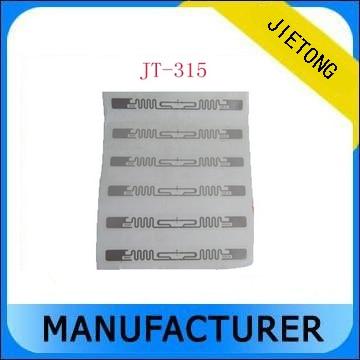 860~960 Mhz ISO18000-6C Protocol Aline H3 UHF RFID Wet Inlay , UHF RFID Sticker lable, UHF RFID Sticker Tag iso 18000 6c gen c2 20m long range passive uhf rfid tag sticker lable for asset management