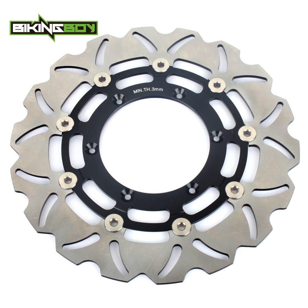 BIKINGBOY Front Brake Disc Rotor Disk for Suzuki DRZ 400 SM 05 06 07 08 09