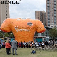 Custom sports game promotional giant inflatable T shirt inflatable clothes model for sale
