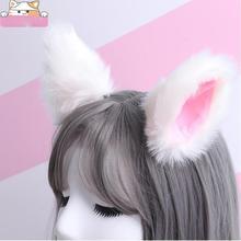 1 пара, заколки «кошачьи ушки», косплей, аниме танец, лиса, ухо, заколка для волос, вечерние аксессуары, декоративное украшение для волос, аксессуары