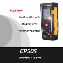 Buy online Trena Medidor Metro digital Distancia Laser,0.5-50m,Cinta Metrica,misuratore laser, laser de mesure, laser range finder, CP50s