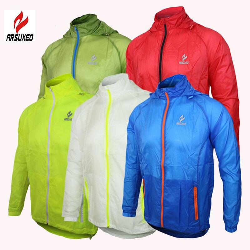 Цена за Куртка 2016 arsuxeo спортивное бренда открытых спортивных мужчин, работающих ветрозащитные обновления велоспорт велосипед clothing пальто clothes.009