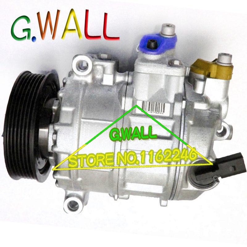 VW Beetle/canddy/Golf V VI/EOS/Jetta/Passat VW ac компрессор 1K0260859F 447180- 4340 1K0820803E 1K0820803T 1K0820808A ...