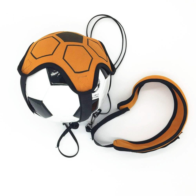 Soccer Ball Juggle Bags Football Training Equipment Kick Solo Children Auxiliary Circling Belt Kids Trainer Football Accessories
