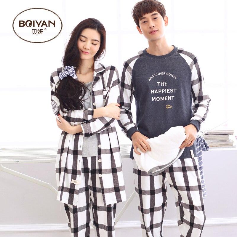 38f2fbcb1673 ᗚВесна и осень с длинными рукавами любителей пижамы мужские или ...