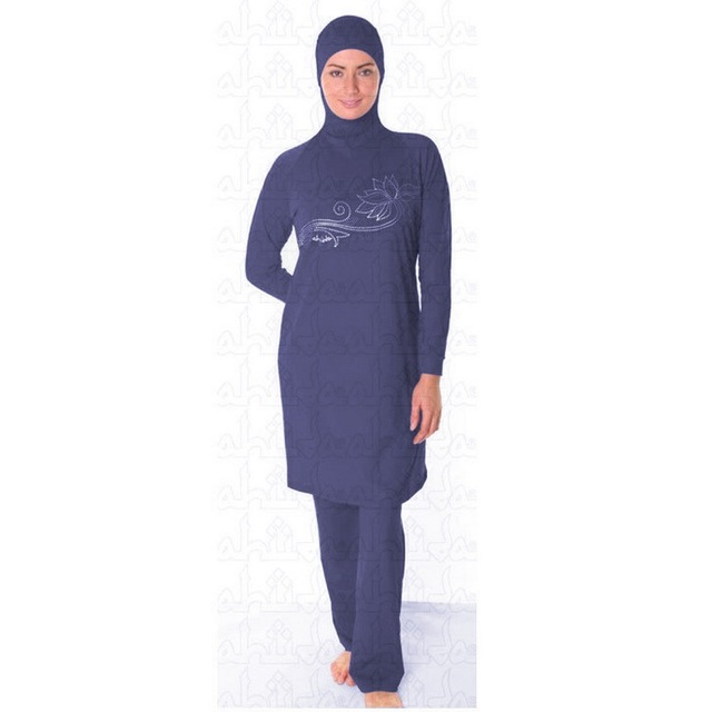 ccb11b21ee2 modest muslim women swimwear hijab swimsuit for islamic women Conserved  bathing suit plus size baju renang muslim