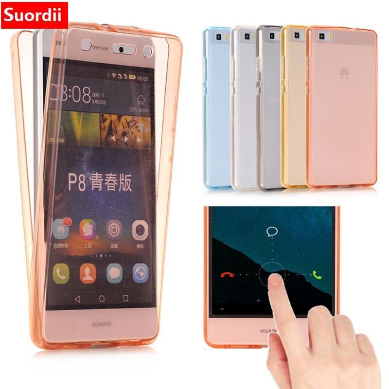 imágenes para 100 Unids 360 Full Body Clear Transparente TPU de Silicona Suave Flexible Frente Cubierta Posterior para Samsung Galaxy S8 S8 plus