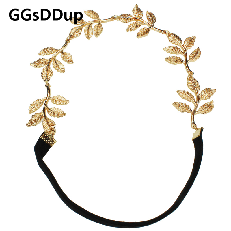 New Style Fashion Romantic 5 Leaves Hairwear Jewelry Women T7302 In Hair Jewelry From Jewelry
