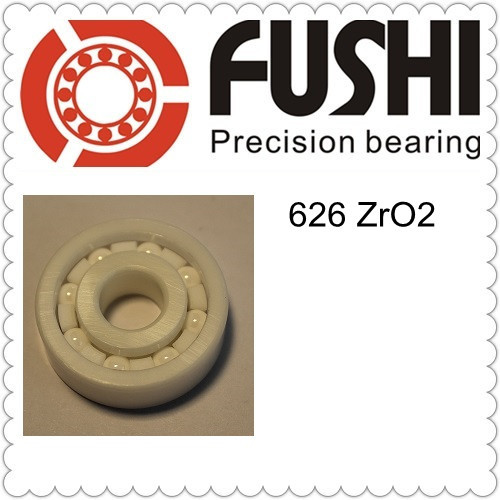 626 Full Ceramic Bearing ( 1 PC ) 6*19*6 mm ZrO2 Material 626CE All Zirconia Ceramic Ball Bearings