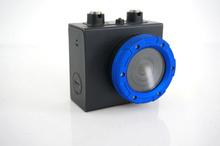 Freeshipping 1080 P Водонепроницаемый Действий Камеры DV-129SA 5.0 CMOS Sensor Motion Обнаружения 120D Широкий Угол Камеры