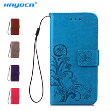 Cover for LG G3 G4 Stylus G5 G6 Q6 Case PU Leather Cover Phone Case for K7 K10 V20 PU+Silicone ShockProof Embossed Leather Case