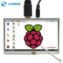 Sale 5 Inch LCD HDMI Touch Screen Raspberry Pi 3 Display LCD HDMI Monitor 800×480 for Banana Pi Raspberry Pi 3 / 2 Model B / B+