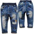 3776 2-4 years kids denim jeans pants spring  autumn  trousers baby boy casual pants new fashion nice baby jeans  boys jeans