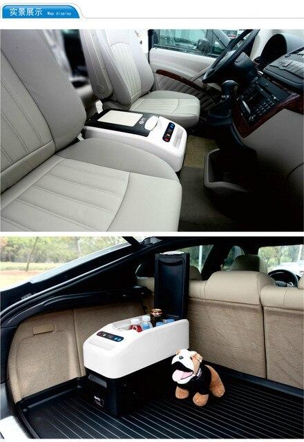 Car Refrigerator  Fridge Portable Freezer Automotive or Home Cold Heating  Incubator 16L 12V  for Business Mercedes Viano