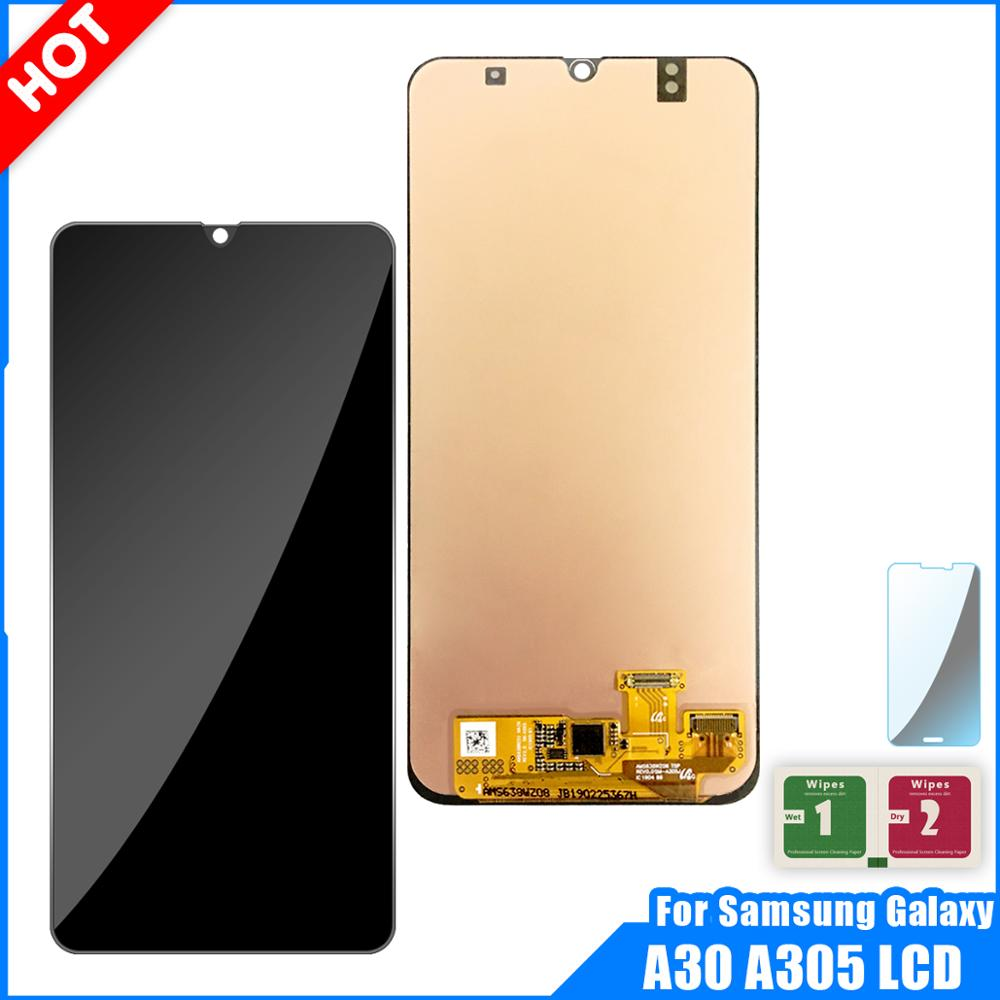 LCD Display For Samsung galaxy A30 A305/DS A305F A305FD A305A Display Touch Screen Digitizer Assembly For Samsung A30 A305 LCDLCD Display For Samsung galaxy A30 A305/DS A305F A305FD A305A Display Touch Screen Digitizer Assembly For Samsung A30 A305 LCD
