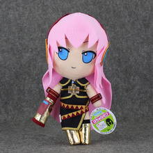 Free Shipping 11 27cm Vocaloid Hatsune Miku Megurine Luka Plush Toy Soft Doll For Girl