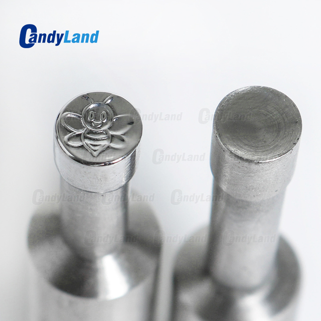 CandyLand Bee Milk Tablet Die 3D Pill Press Mold Candy Punching Die Custom Logo Calcium Tablet Punch Die For TDP5 Machine
