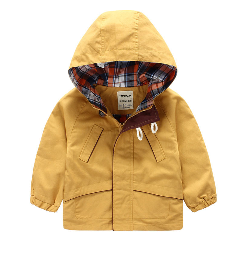 312d712d473 brand hoodie jacket children casual rain coat Cardigan student boy cotton  windbreaker long sleeve tops toddler boys Trench Coat-in Jackets   Coats  from ...