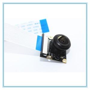 Image 2 - Raspberry Pi 3 Model B 5MP камера ночного видения OV5647 рыбий глаз веб камера 1080P широкоугольный модуль камеры для Raspberry Pi 3B +/3B/2B