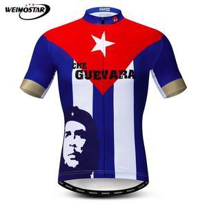 Мужская рубашка для велоспорта Che Guevara, летняя одежда для горного велосипеда, Nation Pro Team, одежда для гоночного велоспорта