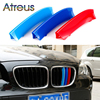 Atreus 3pcs For BMW X5 E70 F15 X1 E84 F48 X3 F25 X4 F26 X6 E71 F16 Motorsport Power M Performance Front Grille Trim Strips Cover review