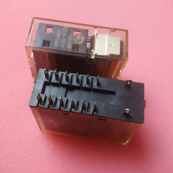Protective Safety 24V relay G7D-412S 24VDC G7D-412S-24VDC G7D412S 24VDC DC24V 24V 14PIN